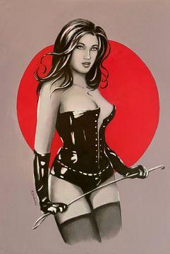 Maîtresse de la luxure - Image de dominatrice sur Marita Zacharias