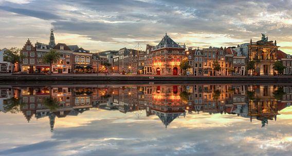 Stadsgezicht, Haarlem  van Reinier Snijders