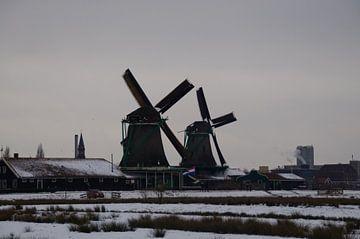 molens in de sneeuw van Robert Lotman