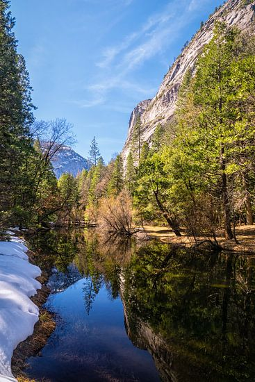 Yosemite Valley Mirror Lake van Jasper den Boer