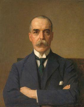 Porträt von Isaac de Bruijn, Jan Veth
