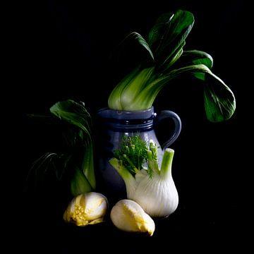 stilleven met groenten van Jeannette Kliebisch