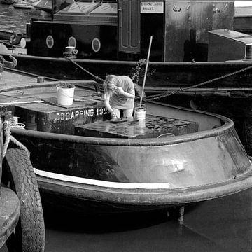 Riedijkshaven Dordrecht 1971 sur Dordrecht van Vroeger
