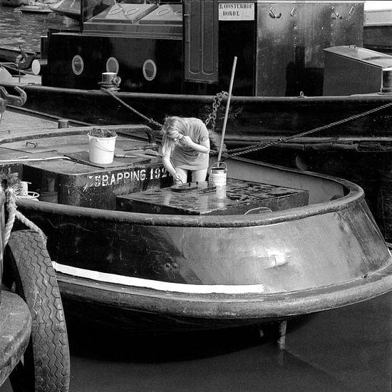 Riedijkshaven Dordrecht 1971 van Dordrecht van Vroeger