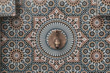 Marokkanisches Mosaik von Sophia Eerden
