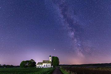 Milchstraße über Raisting von Dennis Eckert