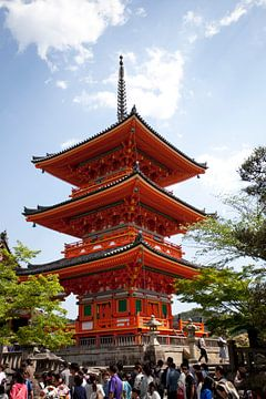 Temple de Kyoto Kiyomizu-dera sur Kees van Dun
