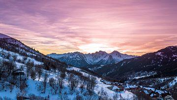 Prachtige lucht in de Franse Alpen sur Richard Steenvoorden