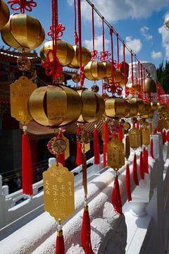 tempel versiering in Taiwan van