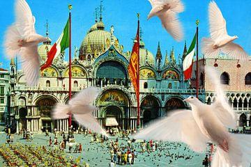 Souvenir aus Venedig von Timeview Vintage Images