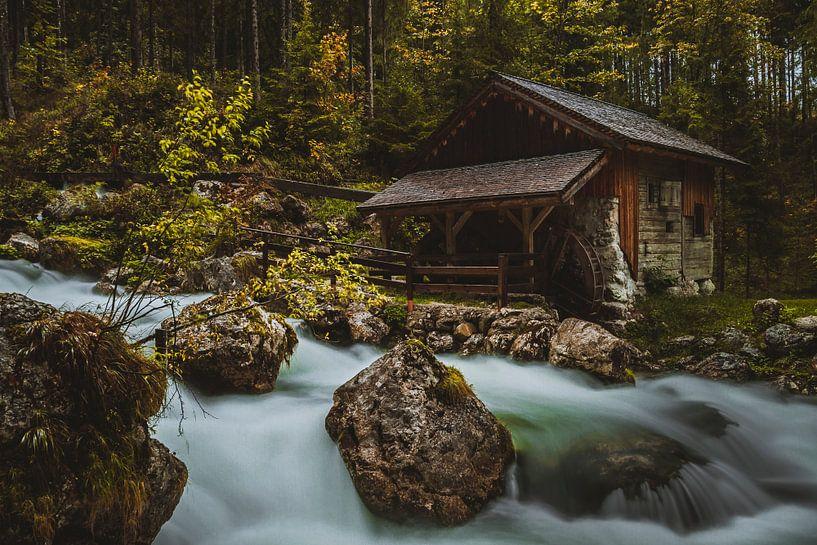 Gollinger Wasserfall von Heiko Lehmann