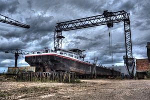 Urbex: Verlorene Bootswerft