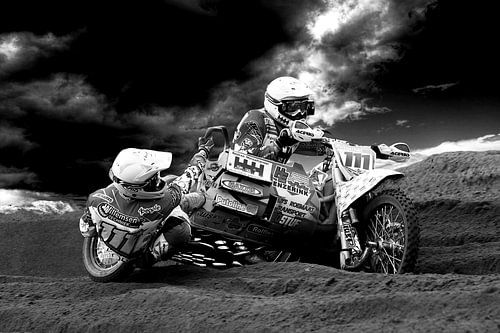 WK Sidecar Zijspancross  NL 2014