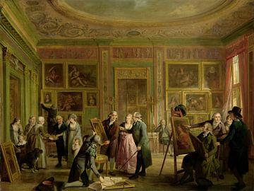 Die Kunstgalerie von Josephus Augustinus Brentano, Adriaan de Lelie, um 1790 - um 1799.