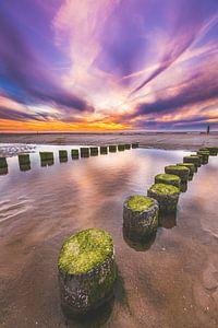 Domburg strand van