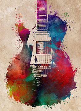 Gitaar 26 muziekkunst #gitaar #muziek van JBJart Justyna Jaszke