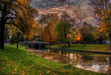 Maliesingel in de herfst van Robin Pics (verliefd op Utrecht)