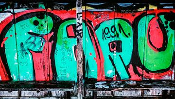 Graffiti van Heiko Westphalen