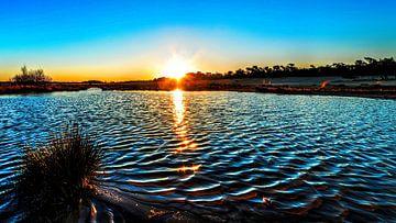 Lever de soleil dans le Brabant sur Rob Smit