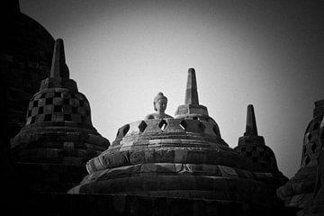 Indonesië - Borobudur van Wim Demortier
