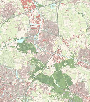 Kaart vanOosterhout