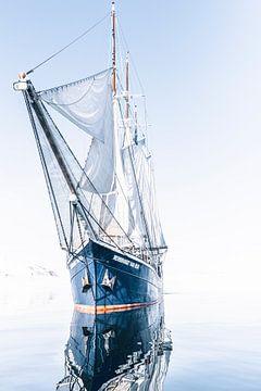 Le voilier Rembrandt van Rijn sur Milene van Arendonk
