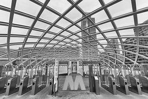 De metro in Den Haag van Cilia Hoekman