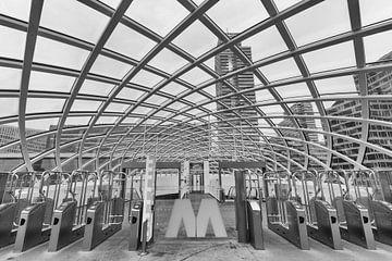 Die Metro in Den Haag von Cilia Hoekman