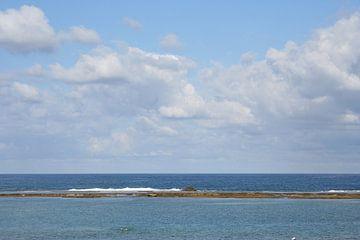 Wolken en zee in Gran-Canaria van Anouk Davidse