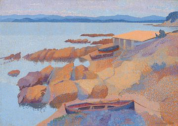 Côte près d'Antibes, Henri-Edmond Cross sur