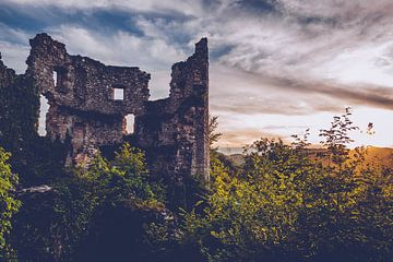 Ruine du château de Samobor (Croatie) sur Alexander Voss