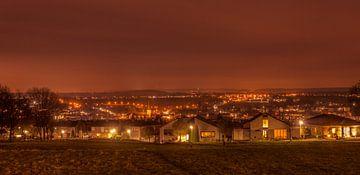 Panorama Simpelveld in de avond van John Kreukniet