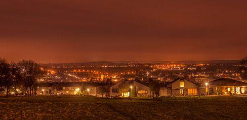 Panorama Simpelveld in de avond