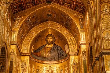 cathédrale de Monreale sur Eric van Nieuwland