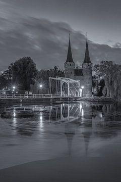 Oostpoort Delft, zwart-wit - 7 van