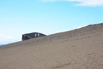De beklimming van de heuvel