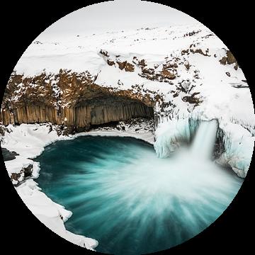 Aldeyarfoss waterval IJsland  van Eefke Smets
