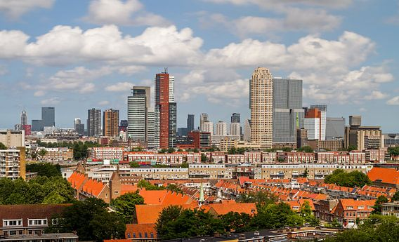 De Wilhelminapier in Rotterdam van MS Fotografie