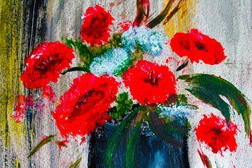 red arrangement van M.A. Ziehr