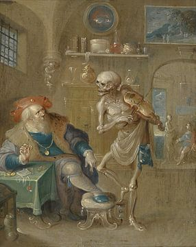 De dood speelt viool, Frans Francken (II) sur