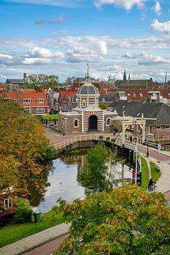 Morse-Tor in Leiden von Dirk van Egmond