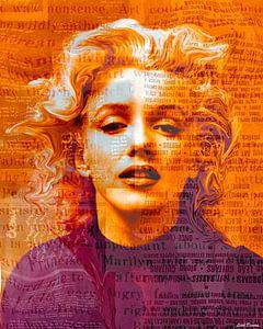 Marilyn Monroe Pop Art Canvas