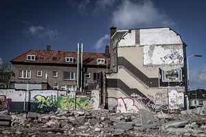 Sloop oude gebouwen