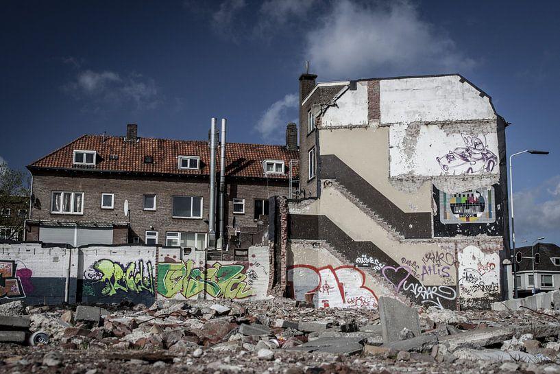 Sloop oude gebouwen sur Jasper Scheffers