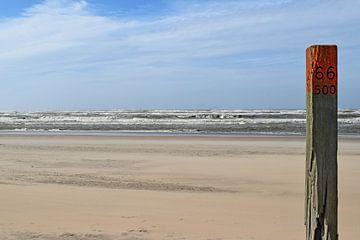 Strand zandvoort van Leanne van Iersel