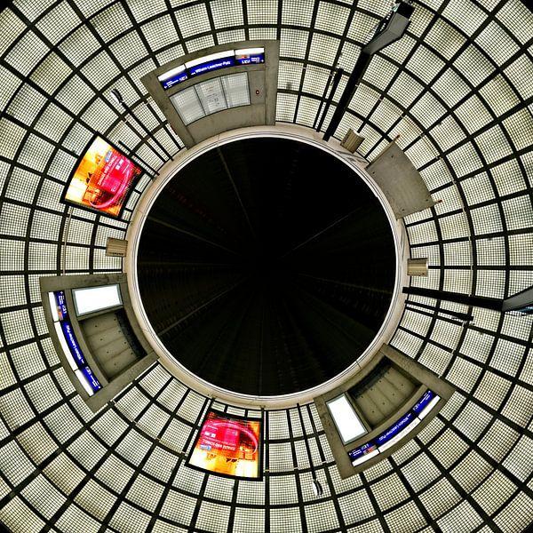 Little Planet City Tunnel Leipzig - Leuschner Platz von Panorama Streetline