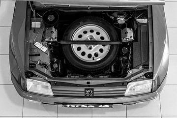 Peugeot 205 T16 von Sim Van Gyseghem