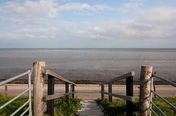 Zee zicht van Anita van Hengel