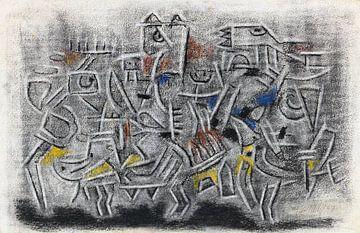 WILLI BAUMEISTER, Ohne Titel, 1947