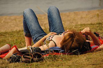 Sonnenbaden von KLaas Hartz